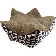 Lavado Bar Forro Polar Peluche cama con base de manta para perros, gatos y otros animales casa Knospe - Größe M 65 x 30 cm Hundebett