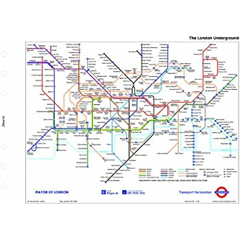 filofax personal london underground map