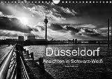 Düsseldorf Ansichten in Schwarz-Weiß (Wandkalender 2019 DIN A4 quer): Düsseldorf - Faszination in Schwarz-Weiß (Monatskalender, 14 Seiten ) (CALVENDO Orte) - Klaus Hoffmann