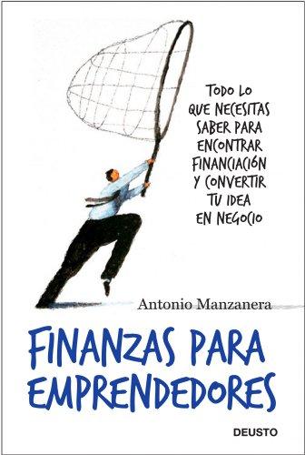 Finanzas para emprendedores de [Antonio Manzanera Escribano]