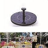 elegantstunning Mini Solar Floating Water Fountain for Garden Pool Pond Decoration