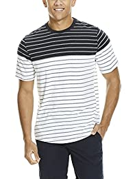Bench Jaquard Stripe Tee, T-Shirt Homme