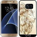 Coque pour Samsung Galaxy S7 Edge - lion poétique by LouJah