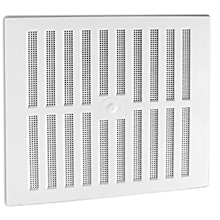 Hit & Miss White Adjustable Large Air Vent 11.25