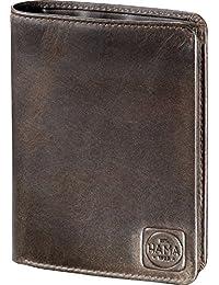 Hama est. for agro h4 1923 paris portefeuille en cuir marron foncé
