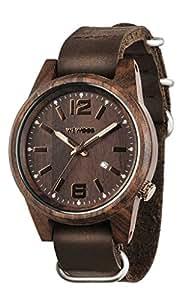 Wooden Watch Wewood CORIUM Choco Moro