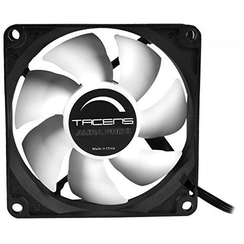 Tacens Aura Pro II - Ventilador para ordenador (8 cm, adaptadores de...