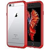 JETech Coque pour iPhone 6s et iPhone 6, Shock-Absorption et Anti-Rayures, Rouge
