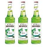 Monin Sirup Gurke, 0,7L 3er Pack