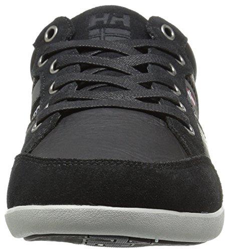 Helly Hansenkordel Leather - Zapatillas Bajas Atléticas Para Hombre Black (black / Ebony / Red / Ash)