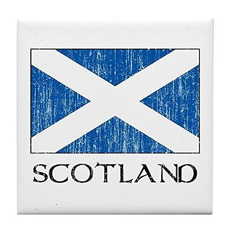 CafePress–Schottland Flagge–Tile Untersetzer, Drink Untersetzer, Untersetzer, Klein