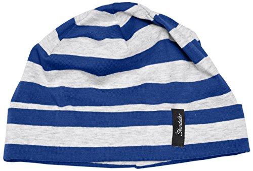 Sterntaler Slouch-Beanie Béret, Bleu (Blau 356), 51 cm Mixte