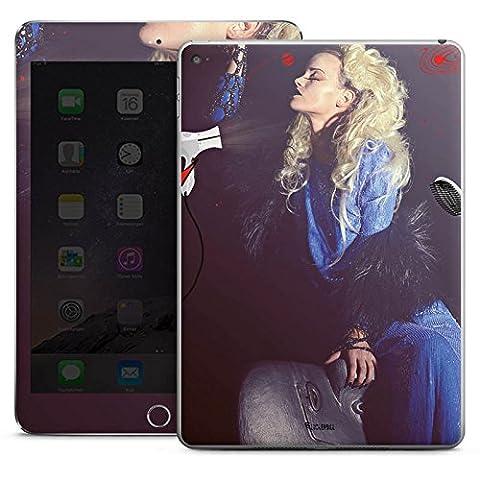 Apple iPad Air 2 Case Skin Sticker aus Vinyl-Folie Aufkleber Frau Föhn Kamm