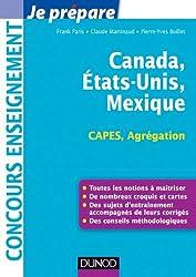 Canada, Etats-Unis, Mexique - Capes-Agrégation Géographie