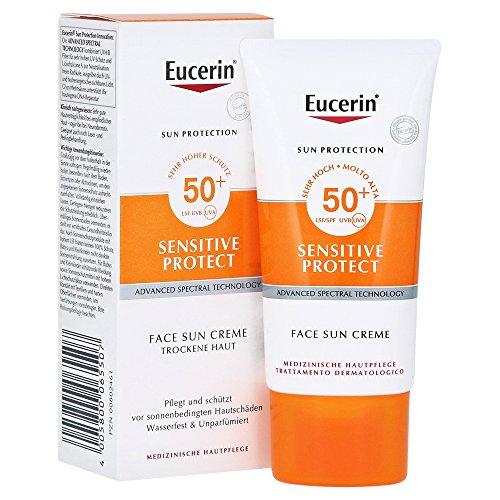 Eucerin Sonnencreme Sun Viso Cr, Sonnenschutzfaktor 50+, Gial
