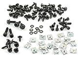 Tech-Parts-Koeln Kompletter Satz Verkleidungsschrauben + Clipse Yamaha Aerox Mbk Nitro - 98 Teile