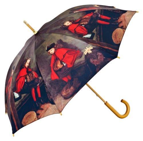 VON LILIENFELD Regenschirm Damen Herren Kunst Motiv John Everett Millais: Erste und Zweite Predigt