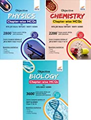 Objective Physics, Chemistry & Biology Chapter-wise MCQs for NTA NEET/AIIMS/JI