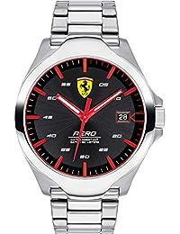 f41141df1f82 Scuderia di Ferrari - Reloj Solo Tempo para Hombre de Acero