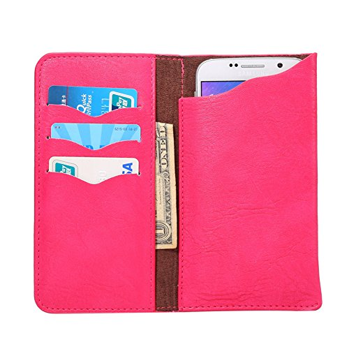 KM-WEN® PU Leder Elefant Muster Wallet Case Schutzhülle Tasche Hängende Taille Handy Hülle für iPhone 6s plus / iPhone 6 plus, Samsung Galaxy A8/ S6 edge+ / Note 4 / Note 5, Huawei P8 / Honor 7i and A Rose-3