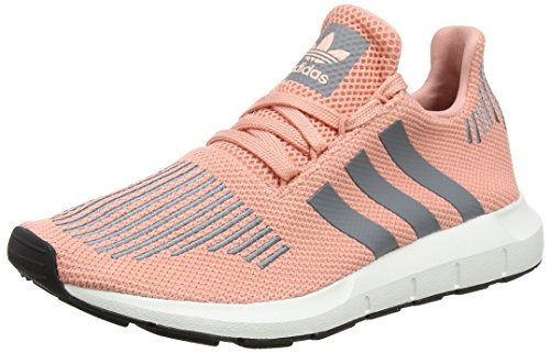 Adidas Damen Swift Run W Laufschuhe, Mehrfarbig (Trace Pink F17/Grey Three F17/Crystal White S16), 42 EU