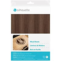 "Silhouette 5"" x 7"" Wood Sheets for Cameo, Curio and Portrait Cutters"