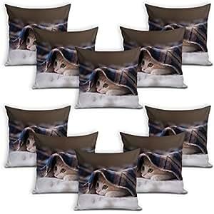 Sleep Nature's Cushion Covers Set of 10 (16x16 inch)