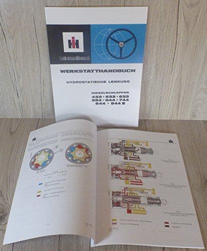 Preisvergleich Produktbild IHC Werkstatthandbuch Hydrolenkung 433+533+633+554+644+744+844+844S