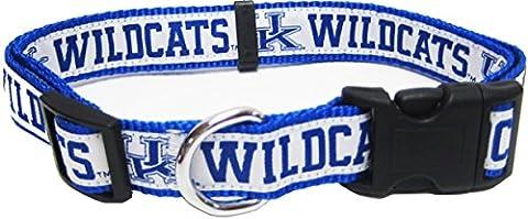 Pets ersten Collegiate Universität von Kentucky Wildcats Pet Halsband,