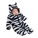 SAMGU Winter Baby warmer mit Kapuze Overall verdicken Outwear Neugeborener Säuglingsmädchen Jungen Spielanzug