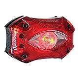 Moon Light Shield Defender LED Rear Bike Light USB Rechargeable