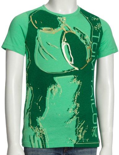 Tom Tailor Kids 10181260040 Mädchen Shirts/ T-Shirts, Gr. 140, Grün (fresh green 7195)
