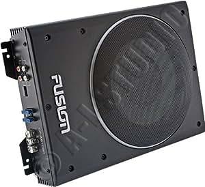 Fusion CP-AS1080 Caisson de Basse Actif Slim 600 W 20 cm Noir