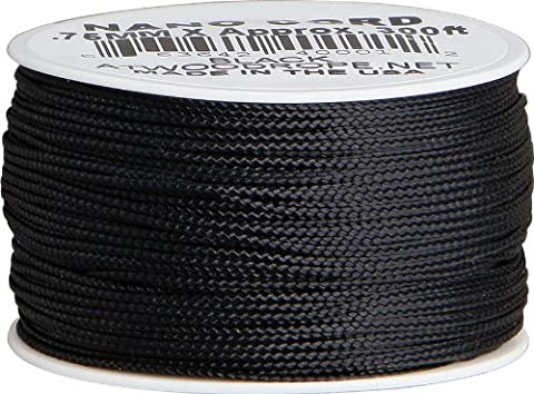 Nano Cord Black .75mm x 300ft