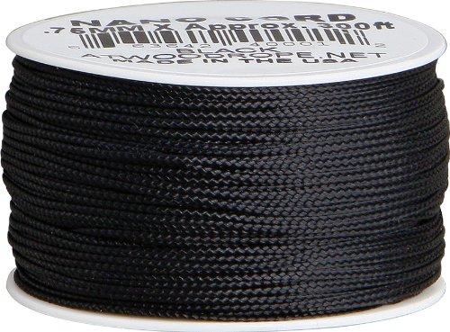 Nano Cord Black .75mm x 300ft