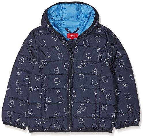 s.Oliver Baby-Jungen Jacke 59.808.51.5136 Blau (Dark Blue AOP 58b0) 86