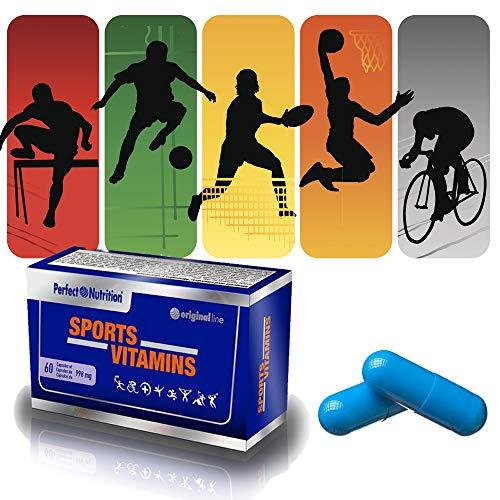 Vitaminas para hombres deportistas