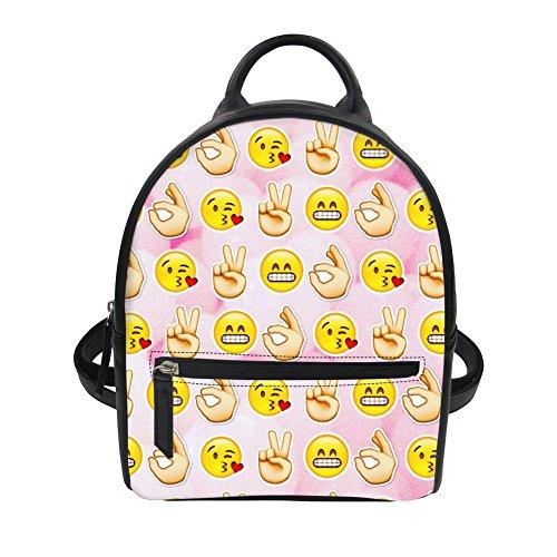 Kleiner Rucksack Rucksack Handtaschen Damen Tagesrucksäcke Schulrucksäcke Mini Rucksack Schulranzen Y01812 ONE Size