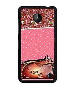 Printvisa 2D Printed Love Designer back case cover for Nokia Lumia 630- D4129