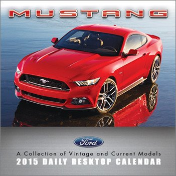 2015 Mustang Daily Desktop Calendar by TF PUBLISHING (2014-06-30)