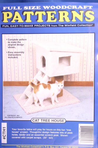 printed-plan-or-pattern-only-to-build-wooden-cat-tree-house-ladder-and-scratch-post-easy-to-build