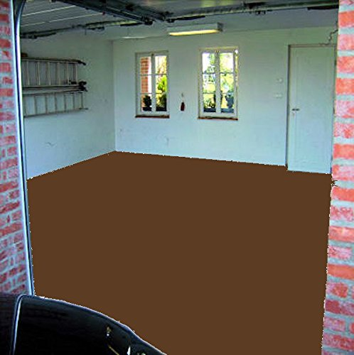 Preisvergleich Produktbild 20kg RAL 8024 beigebraun Garagenfarbe glänzend Parkplatzfarbe Bodenfarbe Weichmacherbeständig Asphaltfarbe