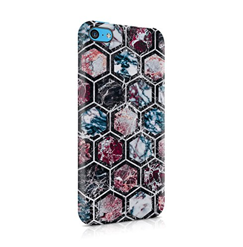 Marble Stone Forest Woods Nature Tumblr Apple iPhone 4 , iPhone 4S Snap-On Hard Plastic Protective Shell Case Cover Custodia Marble Hexagon