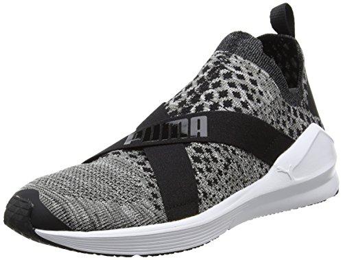 Puma de Fitness Chaussures Noir Fierce white Black Femme Evoknit rSz7qrwZ
