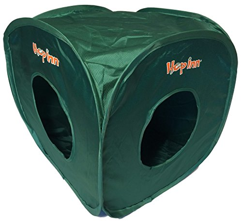 Hop Inn Cube de pop up de jeu pour chat et chaton Indéchirable Pierre