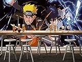 3D Naruto Animation 41 Japan Anime Fond d'écran Mur Peintures Murales Amovible Peinture Murale | Auto-adhésif Papier Peint FR Summer (Papier tissé (besoin de colle), 【 82'x58'】208x146cm(WxH))