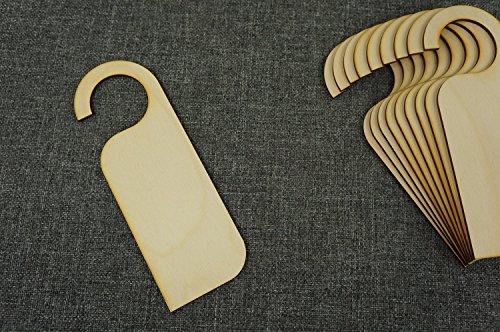 Zaw-C(10 x placa para puerta con texto perchas de...
