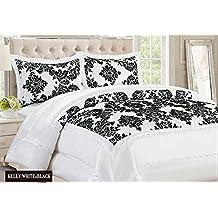 couvre lit et rideaux assortis