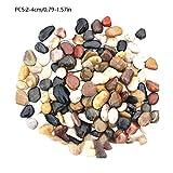 CampHiking Piedras Decorativas para acampadas, Piedras Decorativas para Exteriores, Piedras Decorativas Grandes de Color Granate de Ganso cálido jardín pavimento jardín Piedra de Lluvia Piedras