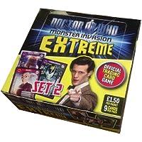 DOCTOR (DR) WHO MONSTER INVASION EXTREME TRADING CARD GAME ~ 24 PACKS ~ FULL BOX ~ SET 2 ~ NEW VERSION